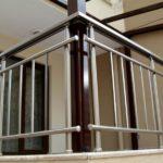 алуминиеви парапети Варна решетка